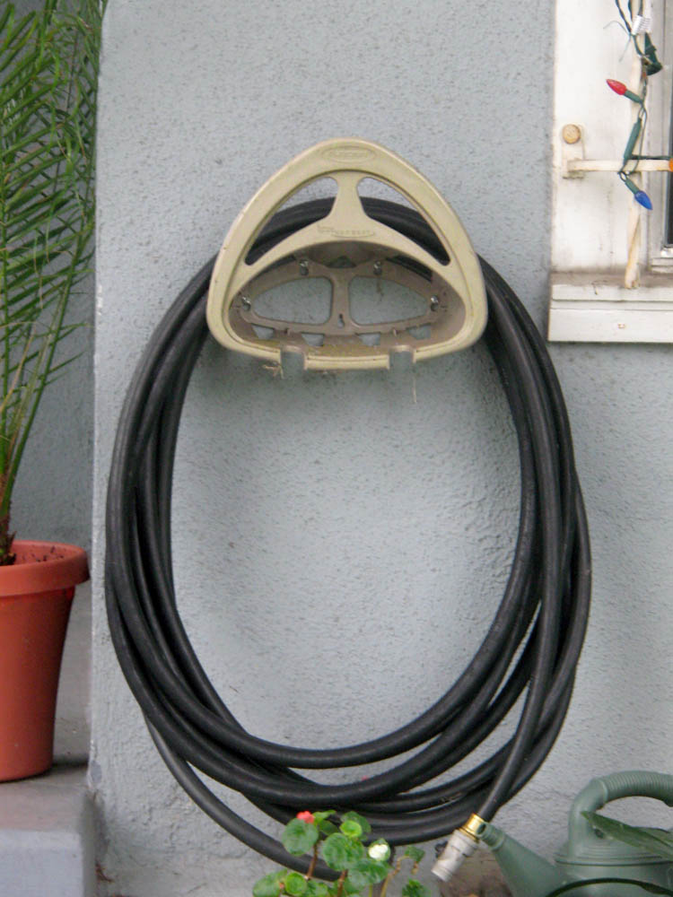 this hose holder is watching you (c) David Ocker