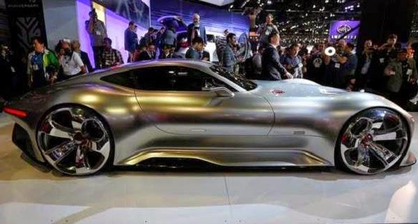 Gambar Mobil Super Sport Mewah Mercedes AMG Vision GT