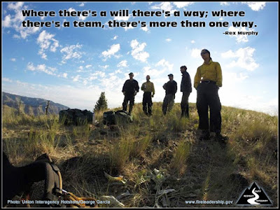 Where there's a will there's a way; where there's a team, there's more than one way. –Rex Murphy