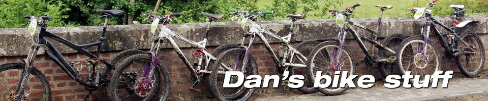 Dan's bike stuff