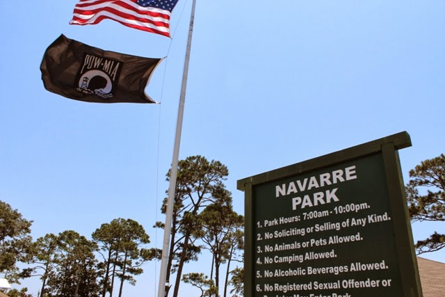 Navarre Park in Navarre, FL 32566~ Waterfront picnic area & playground