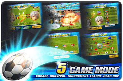 Head Soccer v4.0.3 Mod Apk Data (Unlimited Money) 2