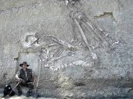 Penemuan Manusia Raksasa kaum 'AD Umat Nabi Hud AS.
