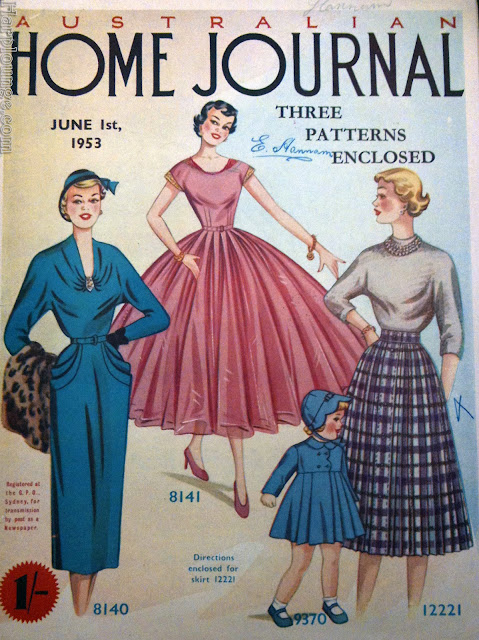 cover of Australian Home Journal from  1 June 1953