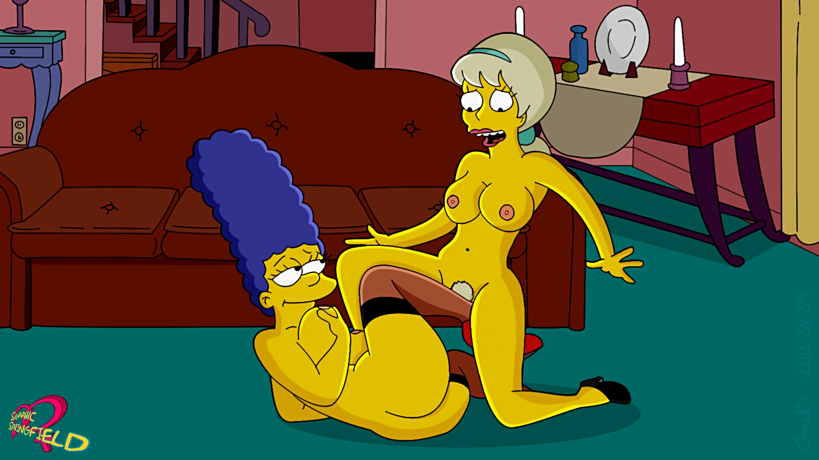 More Hot Pictures From Marge Simpson And The Sluts Of Springfield