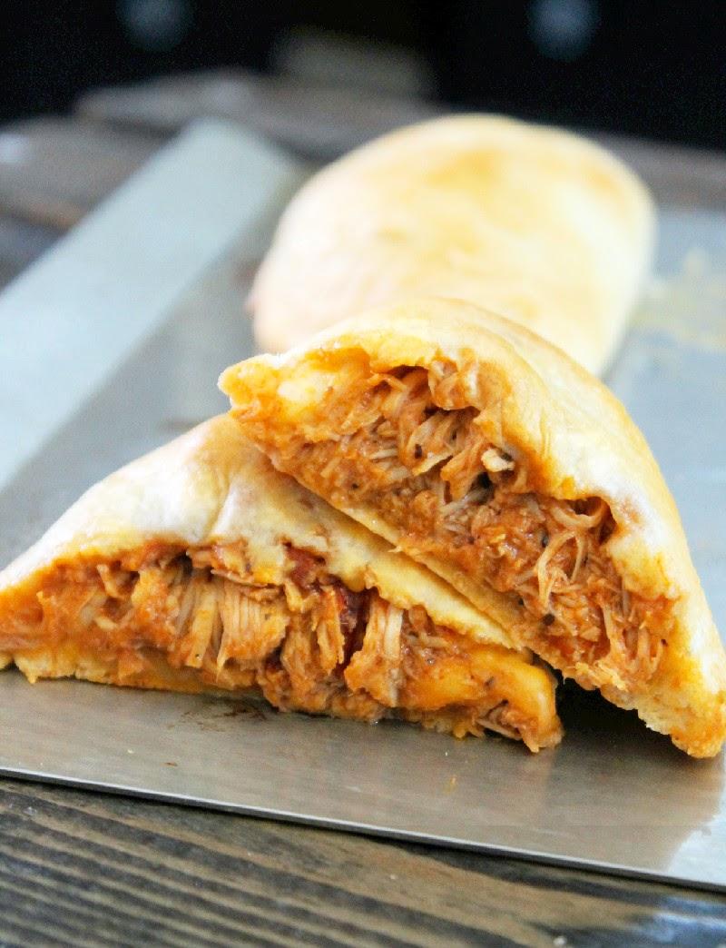 Creole Contessa: Easy Buffalo Chicken Biscuit Empanadas