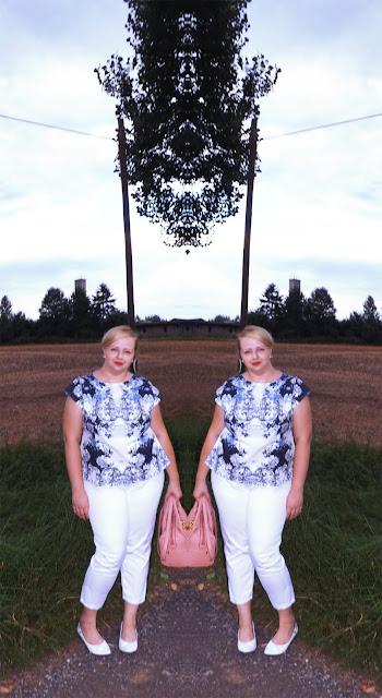mirror effect na perkalu