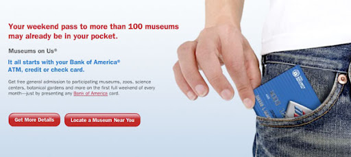 Bank of America - FREE Nationwide Musuems Admissions