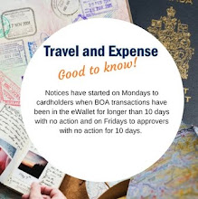 Travel and Expense Tip!