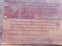 Griffith Park Teahouse plaque