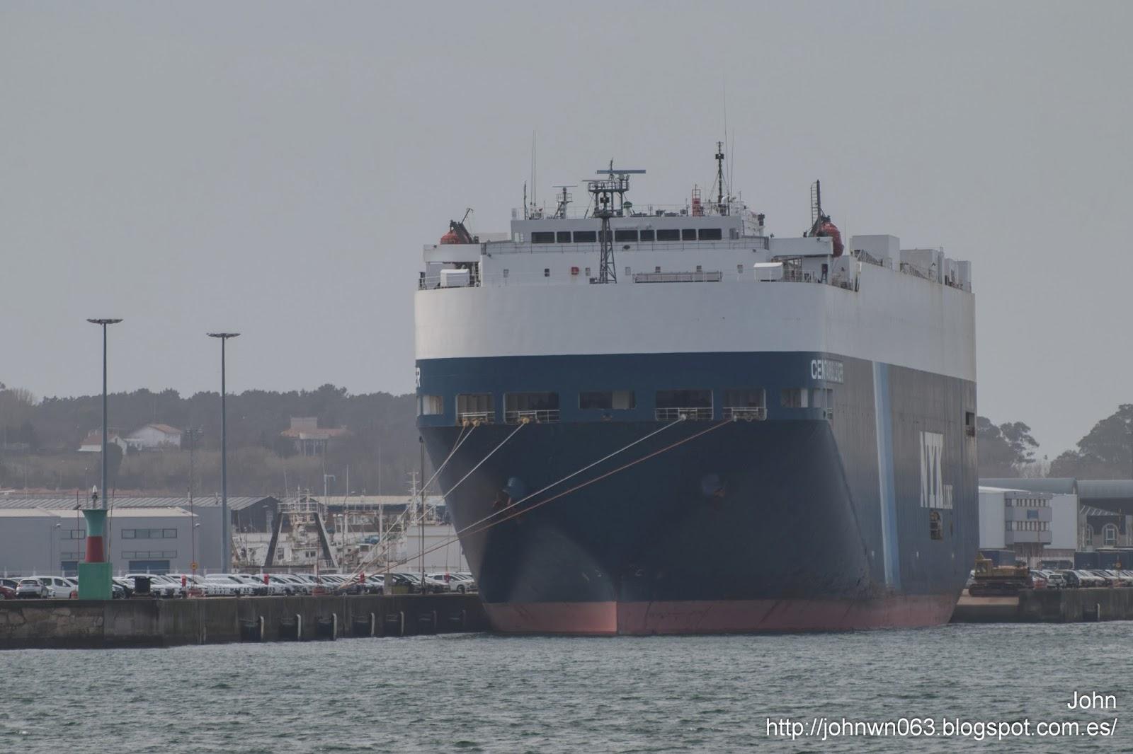 centaurus leader, fotos de barcos, vehicles carrier, vigo, bouzas