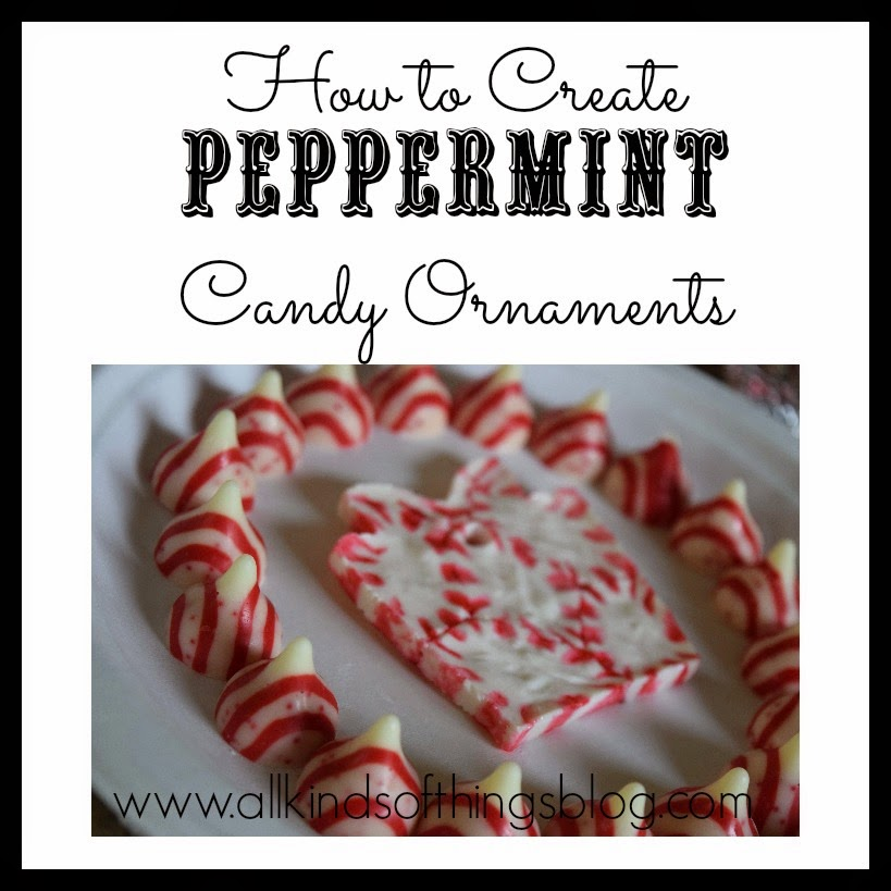 Melted Peppermint Candy Ornaments: All Kinds Of Things: How To Make Christmas Trail Mix