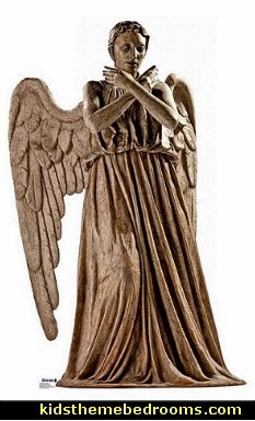 weeping angel doctor who life size cardboard standup - Dr Who Bedroom Ideas