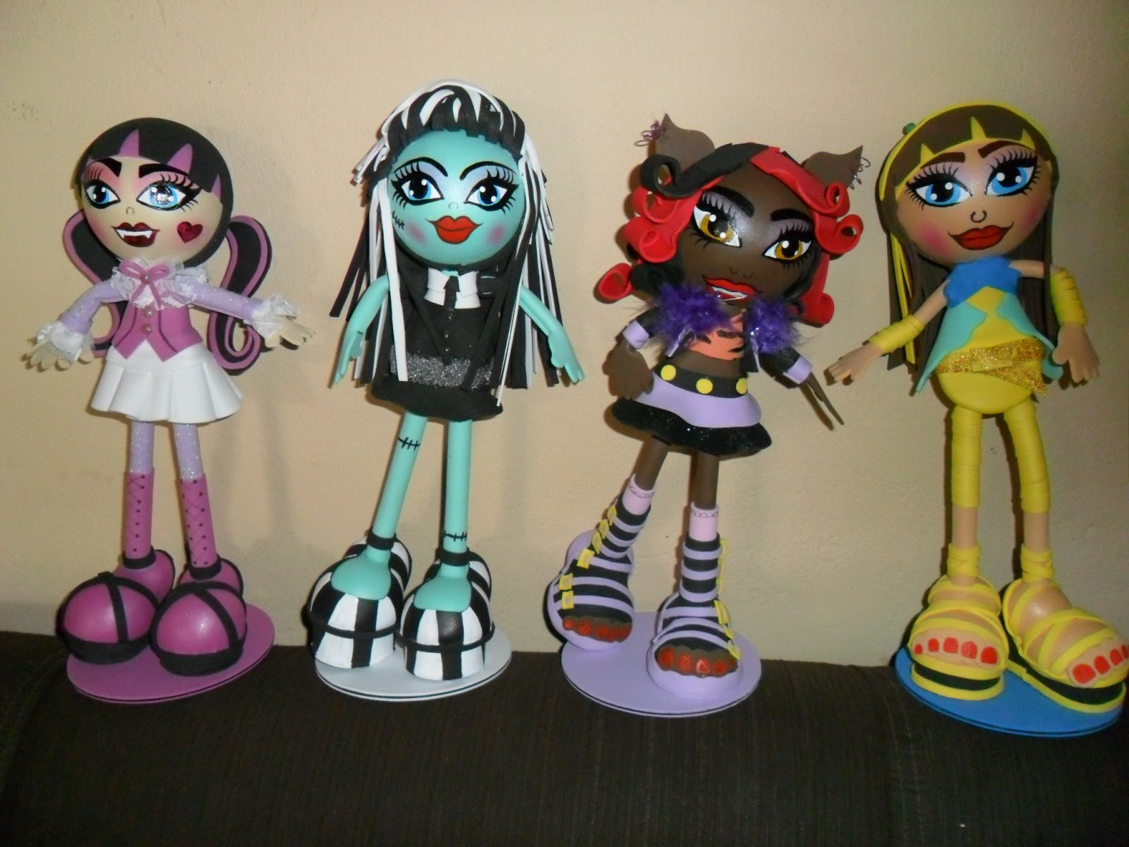 Monster High Em EVA 3D