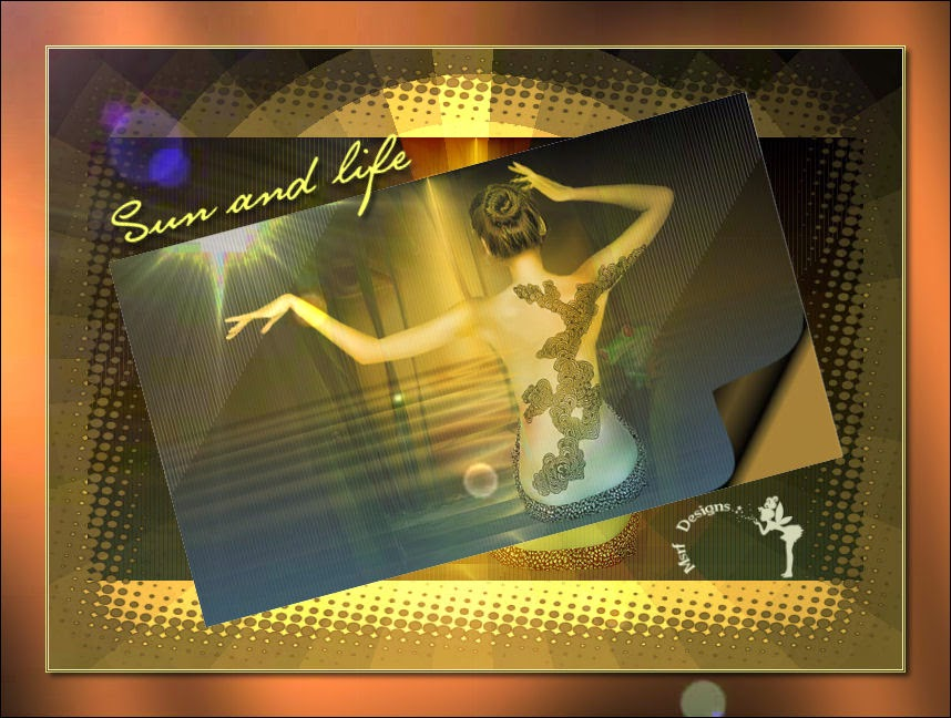 Sun and life ( Güneş  ve yaşam)-Psp tutorial