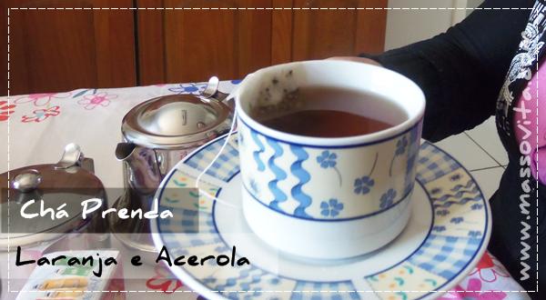 Chá Prenda Laranja e Acerola