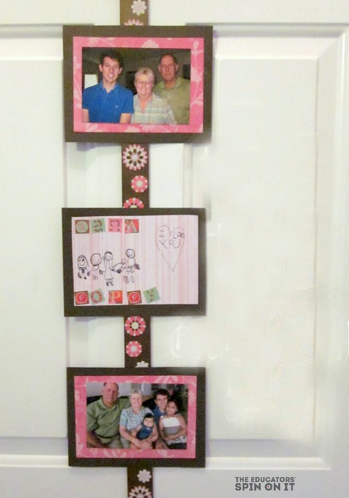 Hanging Photo Frame for Mother's Day from The Educators' Spin On it