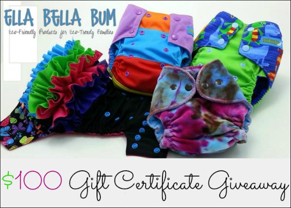 Ella Bella Bum Giveaway