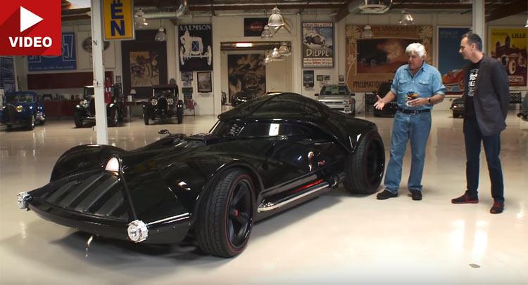 jay leno drives hot wheels real darth vader car on la streets - Real Hot Wheels Cars