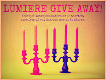 Give Away bij Rianne