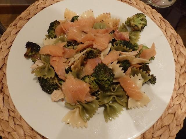 pasta salmón y brecol alba hogar