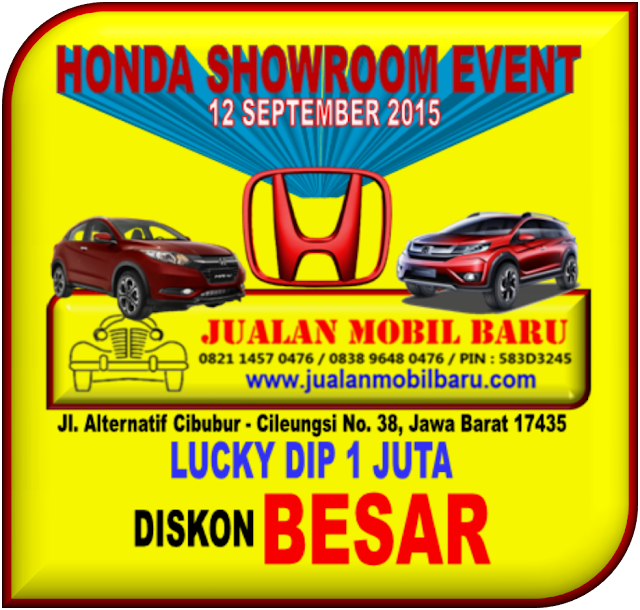 HONDA SHOWROOM EVENT