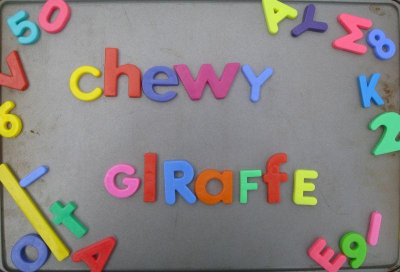 Chewy Giraffe