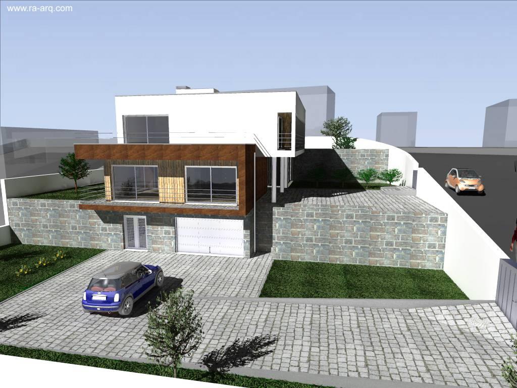 Wonderful como construir en un terreno a desnivel - Casa con terreno ...