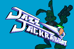 Jazz Jackrabbit GBA title screen