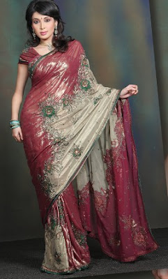 Red-and-Black-Wedding-Saree