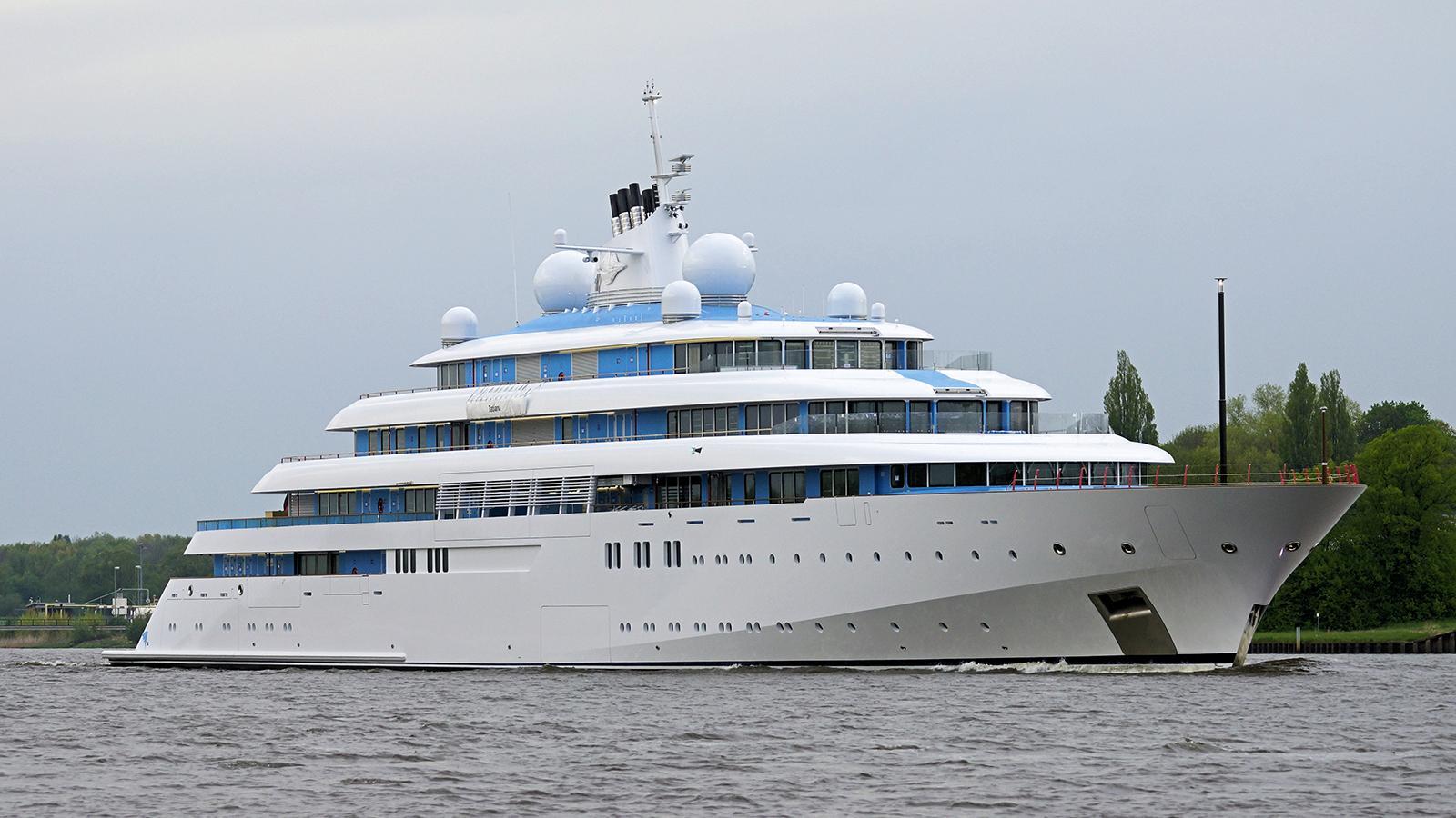 GOLDEN ODYSSEY Superyacht
