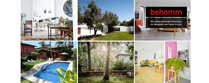 Behomm portal de intercambio de casas para diseñadores