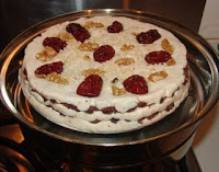 Chinese cake recipe with rice flour and red bean filling