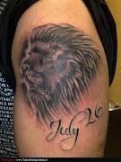 Animal Tattoos (lion tattoos animal )