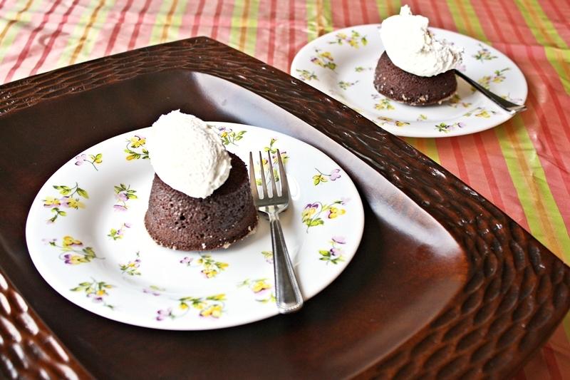 molten chocolate cake ramekin