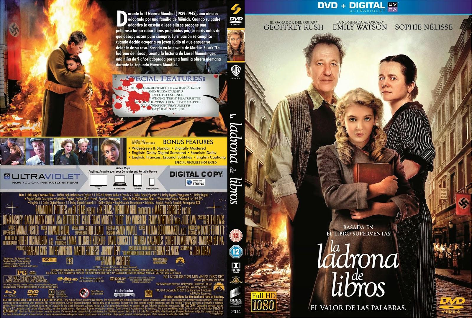 MOVIES WORLD: LA LADRONA DE LIBROS DVD