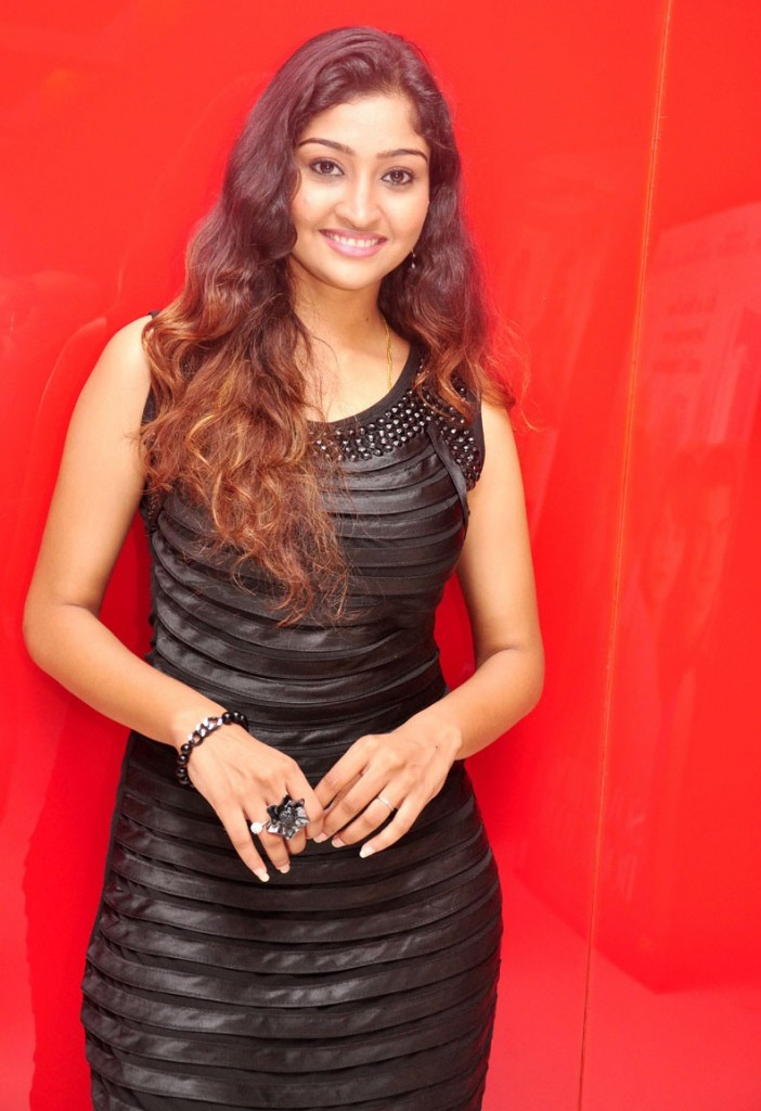 Neelima Rani in Black Sleeveless & Black Leggings, Tamilian Actress