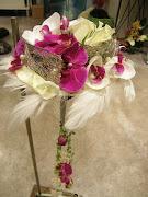 una novedad que me encanta, abanicos florales, fácil de llevar y sobretodo .
