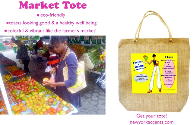 eco-friendly market tote bag