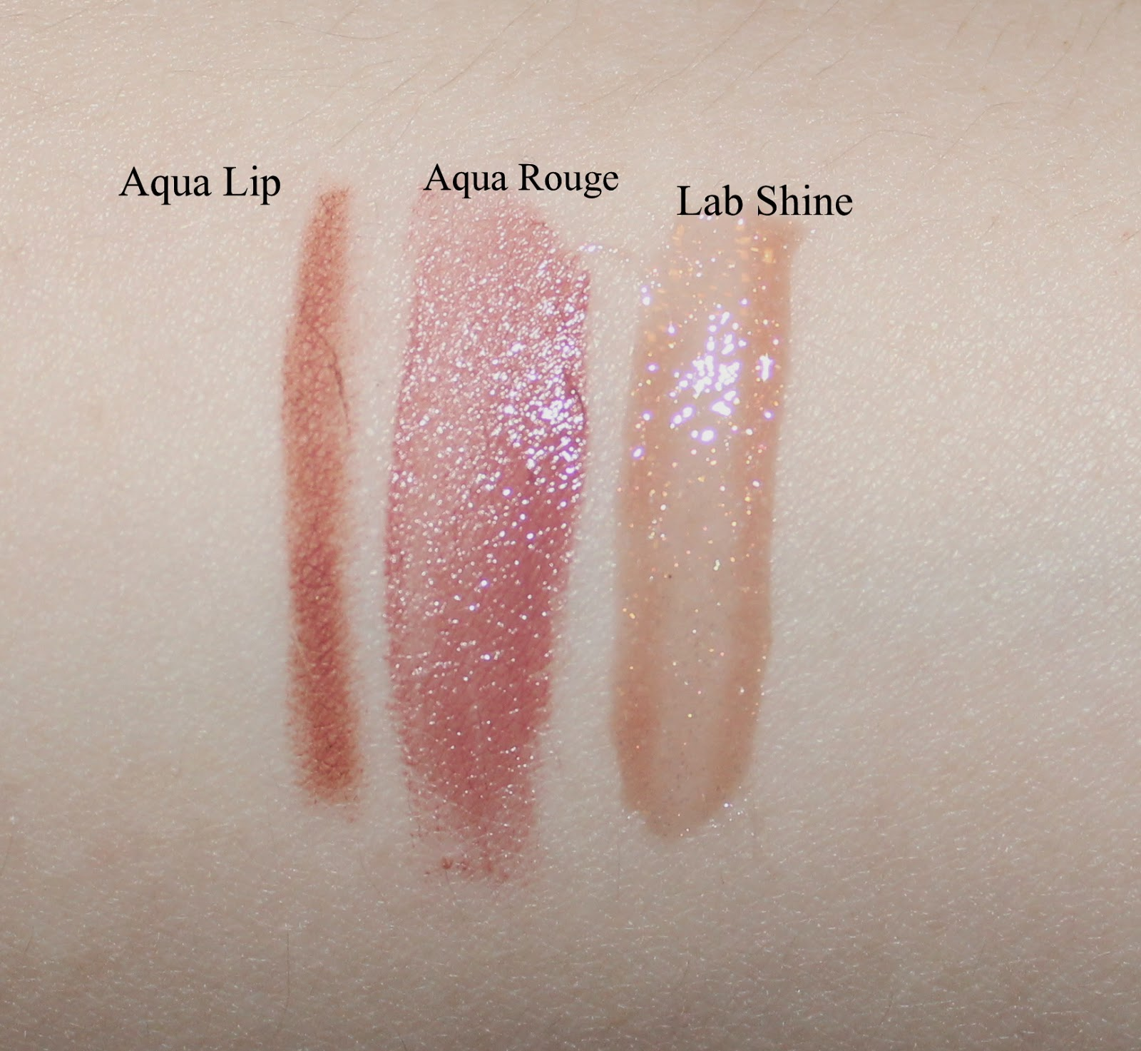 MAKE UP FOR EVER Tease Me Lip Set: Innocent Nudes Swatches