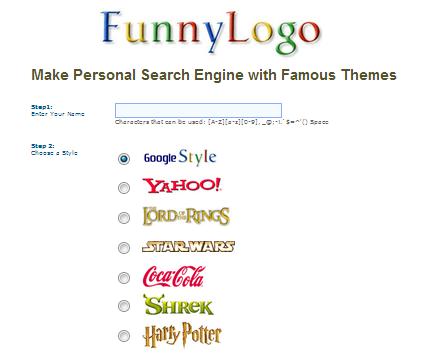 موقع funnylogo لتصميم شعار مدونة خاص