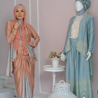 5 Gamis Dan Gaun Busana Muslim Pesta Model Trend Terbaru