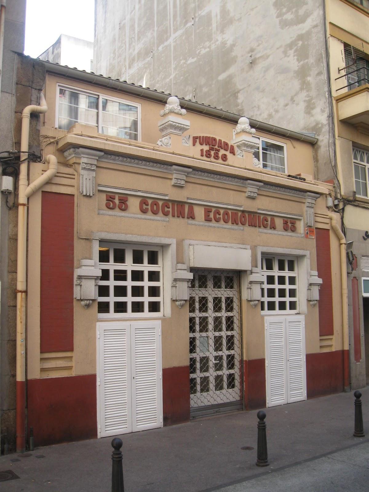 O blog do castro baxoi excursi n coru a - Cocina economica coruna ...