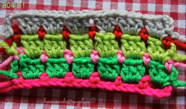 Amigurumi Stitch Tutorial : Homemade myplace block stitch afghan the way i do it