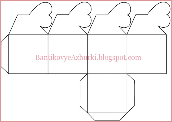 Коробочка сердечко как сделать коробочку из картона фото 629