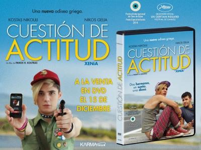 A la venta en DVD 'Cuestión de actitud' de Panos H. Koutras