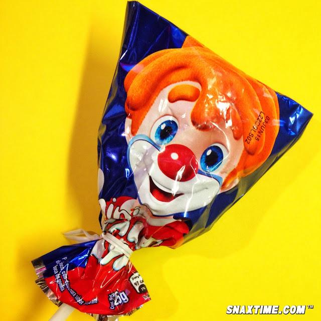 Paleta payaso creepy mexican clown candy fun snaxtime