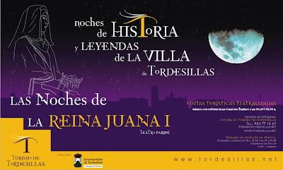 Noches de Historia y Leyendas de la Villa de Tordesillas