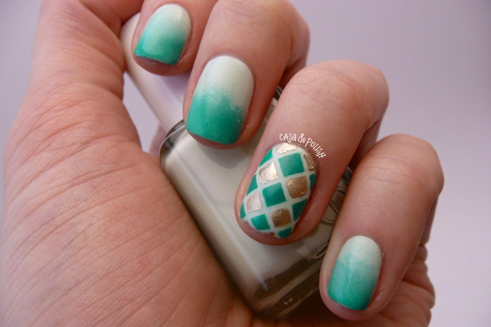 Casa de Polish: Nail Art NailOff: Happy St. Patrick39;s Day!