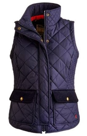 Joules quilted vest